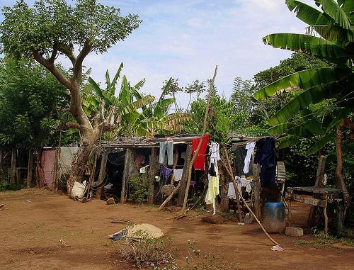 A home in the slum