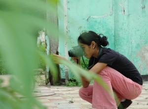 Melki taking photos