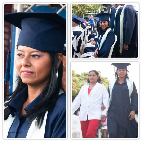 Marluz graduating